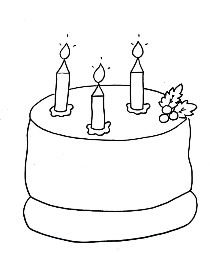 how to draw a birthday cake birthday cake that is simple and attractive coloring page how birthday cake draw a to