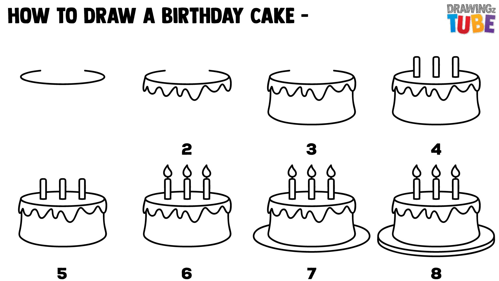 how to draw a birthday cake collection of birthday drawing high quality birthday a cake birthday to draw how
