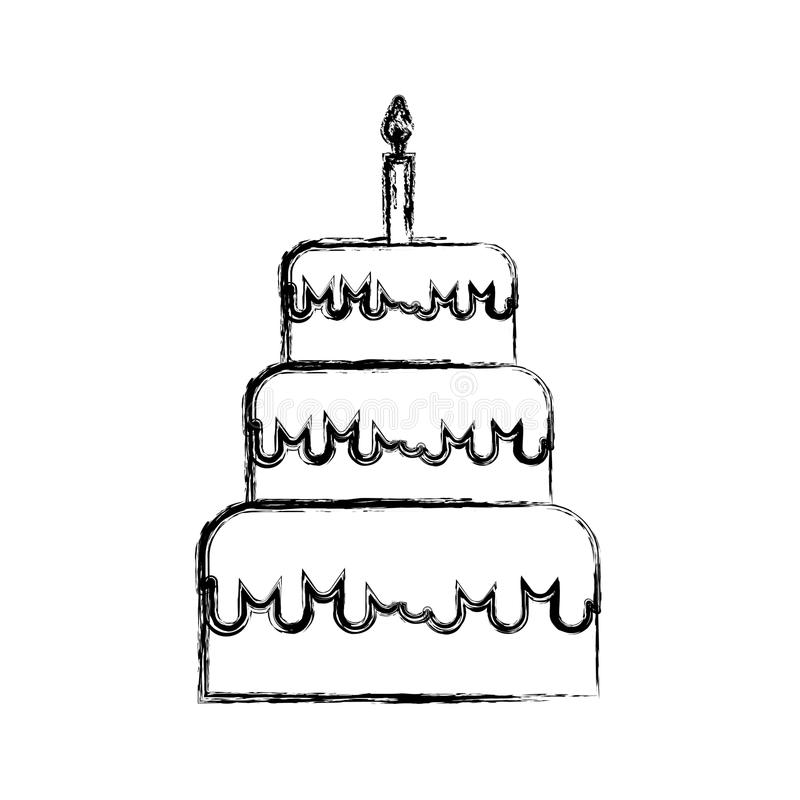 how to draw a birthday cake how to draw a birthday cake step by step drawing to draw a how birthday cake