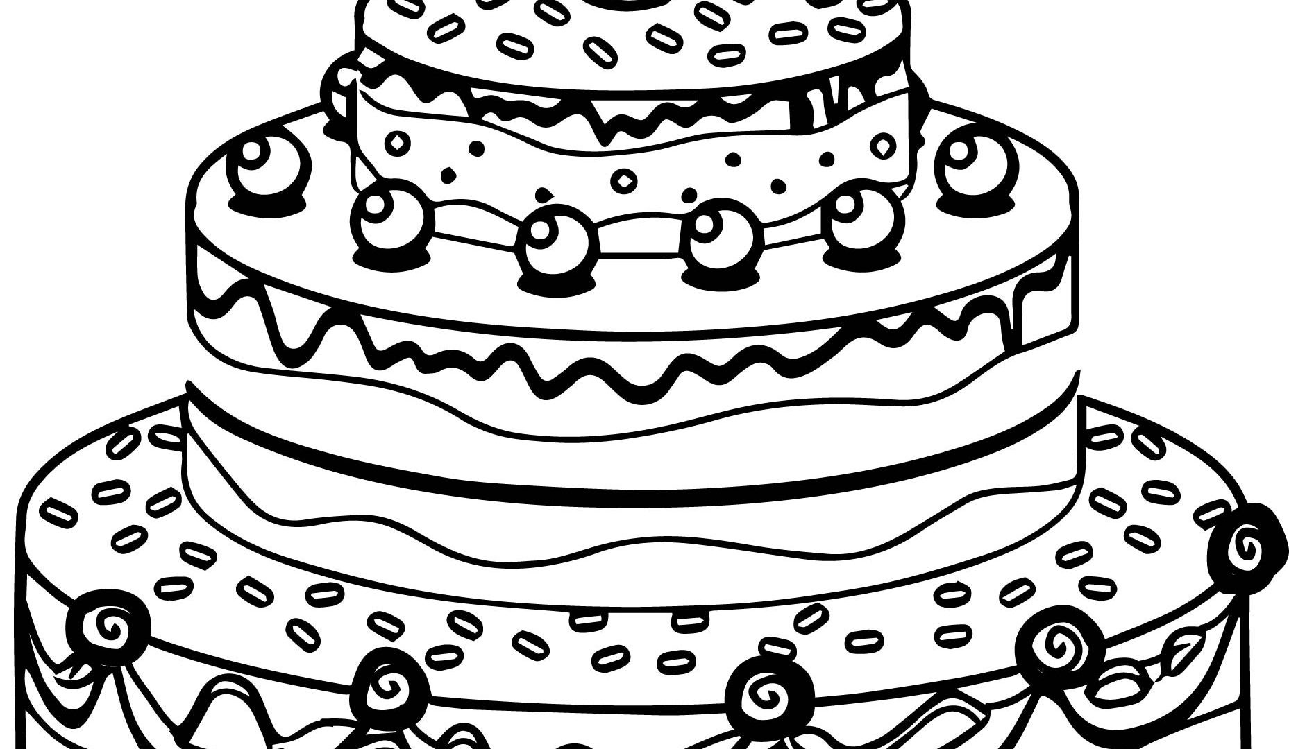 how to draw a birthday cake pin by kristi oltman on cake drawings cake drawing big to birthday draw cake a how