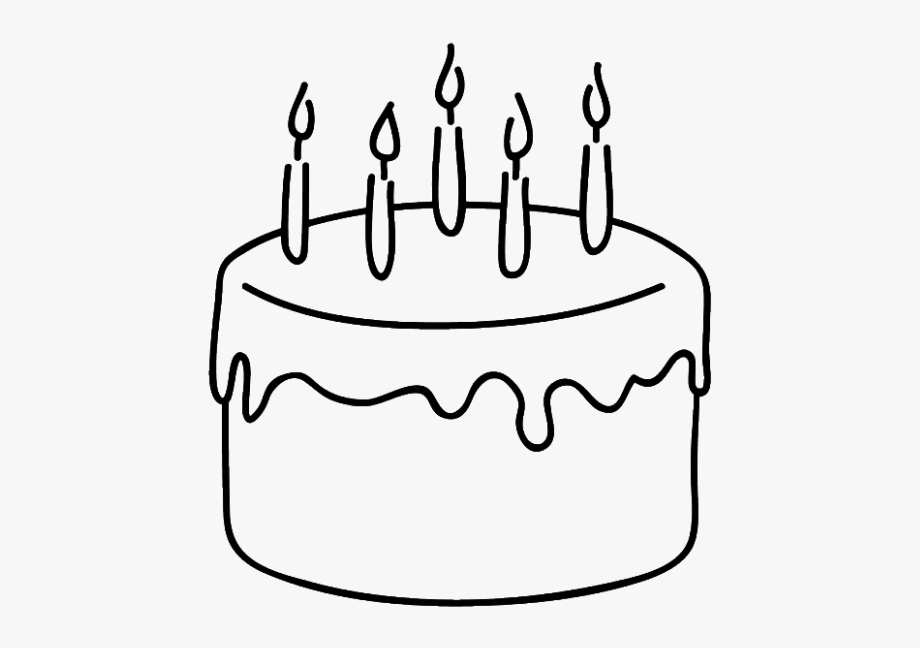 how to draw a birthday cake simple cake drawing at paintingvalleycom explore birthday draw a how to cake