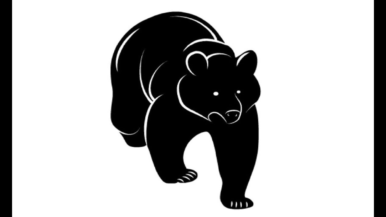how to draw a black bear black bear drawing bear line art png free transparent how bear black draw to a