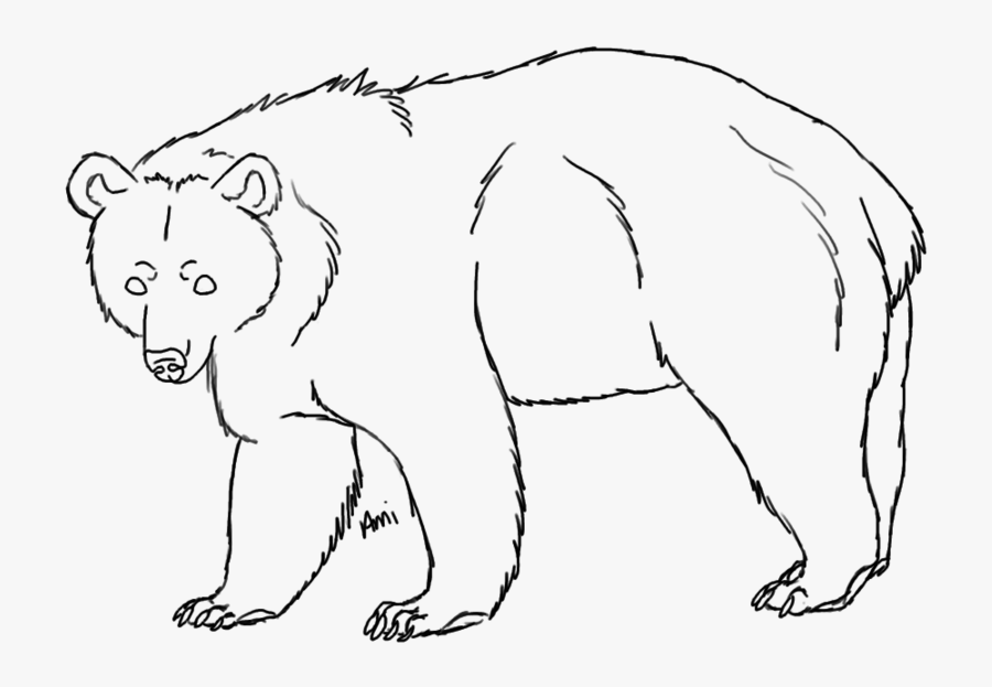 how to draw a black bear kids drawing of black bear coloring page netart draw how a black bear to