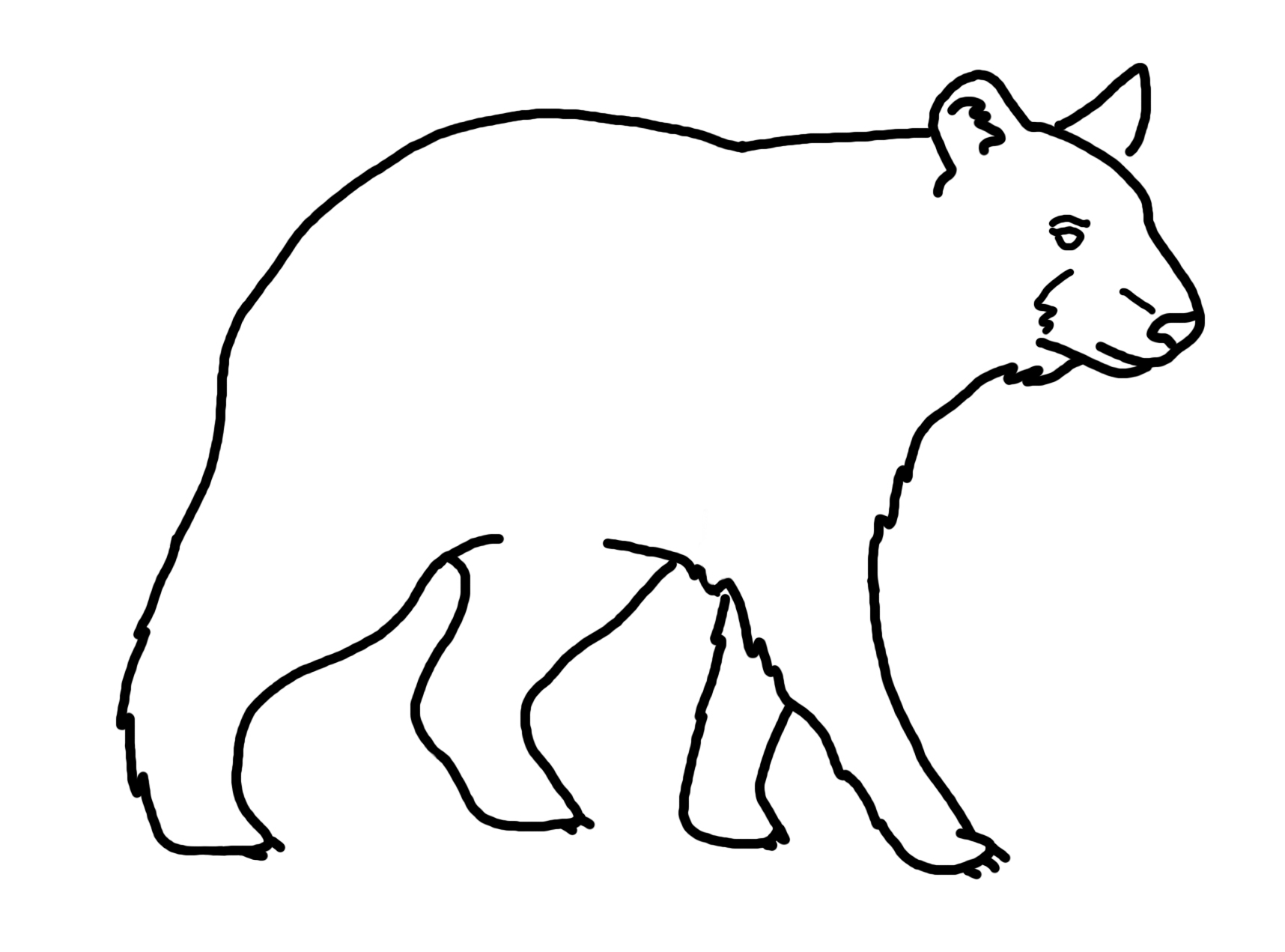 how to draw a black bear learn how to draw an asian black bear bears step by step how to bear draw black a