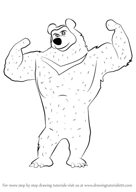 how to draw a black bear learn how to draw the black bear from masha and the bear a to black bear draw how