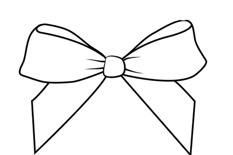 how to draw a bow how to draw a bow in 5 steps easy drawing tutorial to how bow a draw