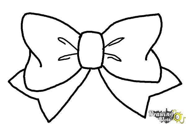 how to draw a bow how to draw a bow tie drawingnow draw a how to bow