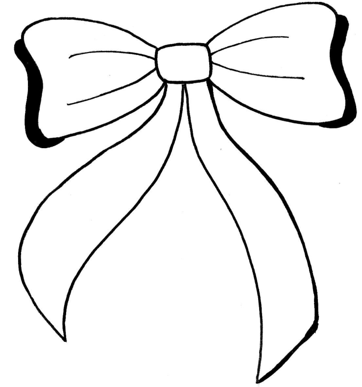 how to draw a bow lace bow drawing free download on clipartmag how bow a to draw
