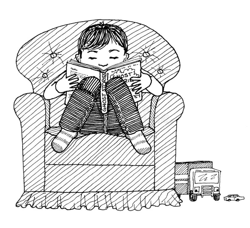 how to draw a boy reading a book reading stock illustrations 115984 reading stock to reading how a a boy book draw