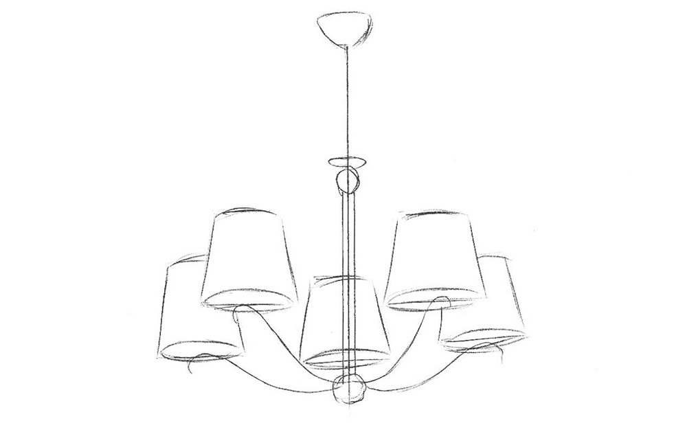 how to draw a chandelier candelabra drawing at getdrawings free download a to chandelier draw how
