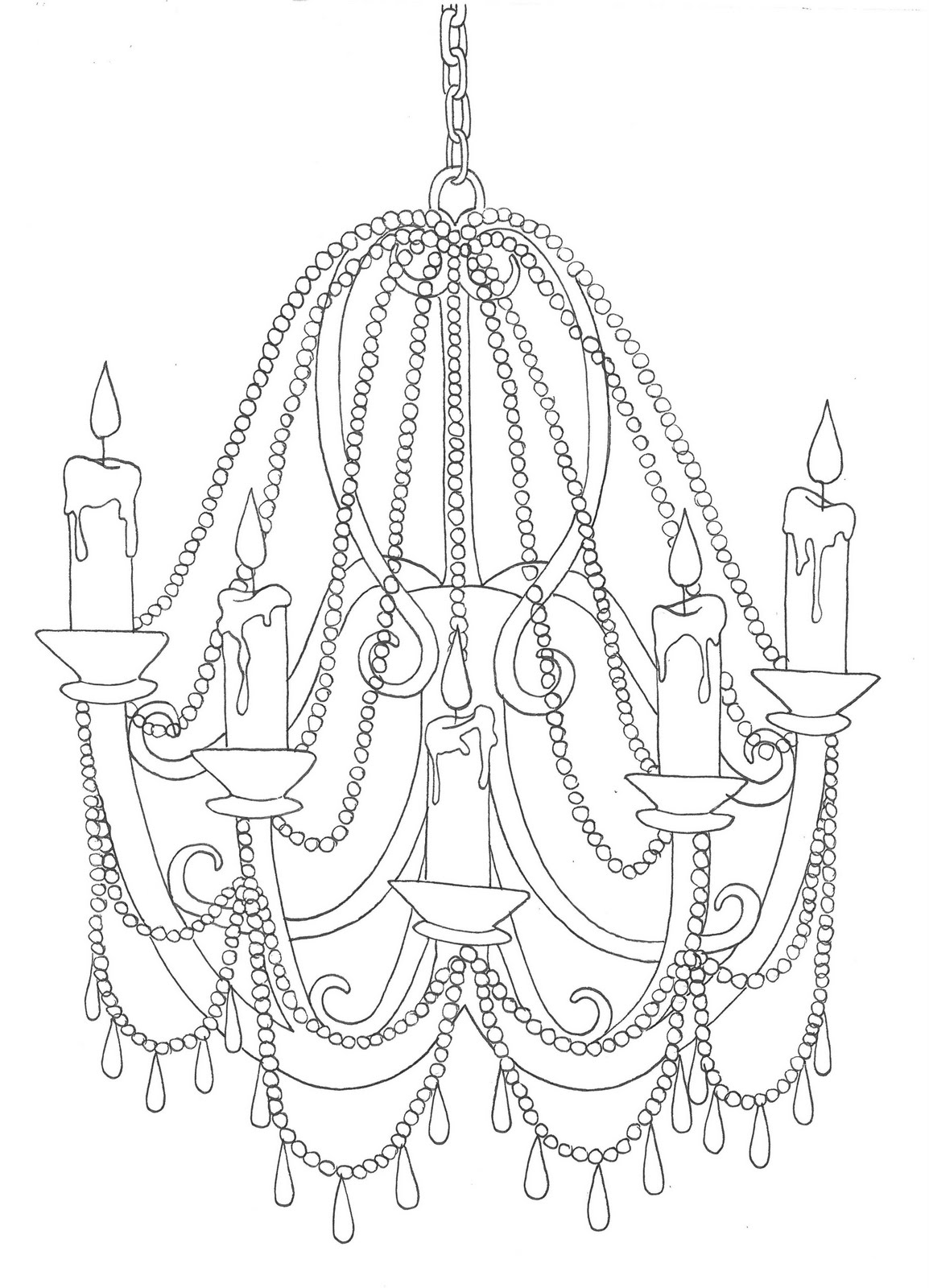 how to draw a chandelier crem bru laa march 2011 a chandelier how draw to
