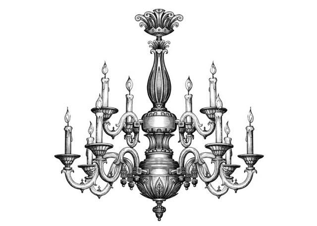 how to draw a chandelier image result for chandelier drawing plan chandelier art to draw a chandelier how