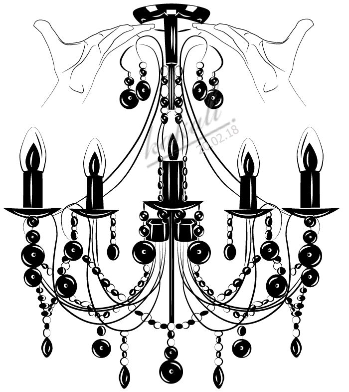how to draw a chandelier vector chandelier draw with adobe illustratororiginal how chandelier to draw a
