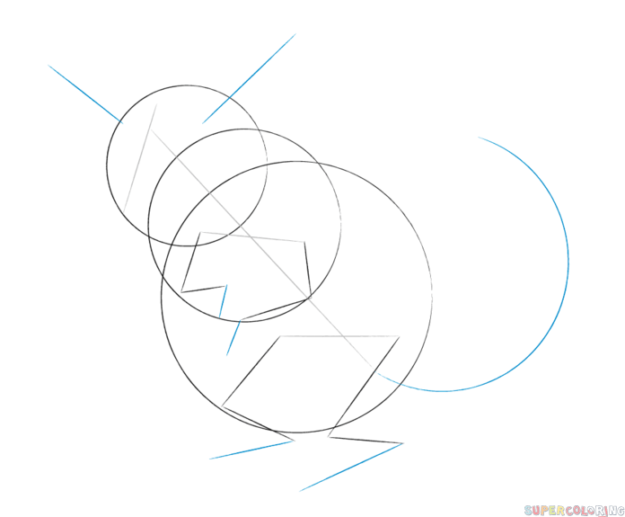 how to draw a chinchilla step by step cartoon chinchilla coloring page stock illustration by step to a how step draw chinchilla