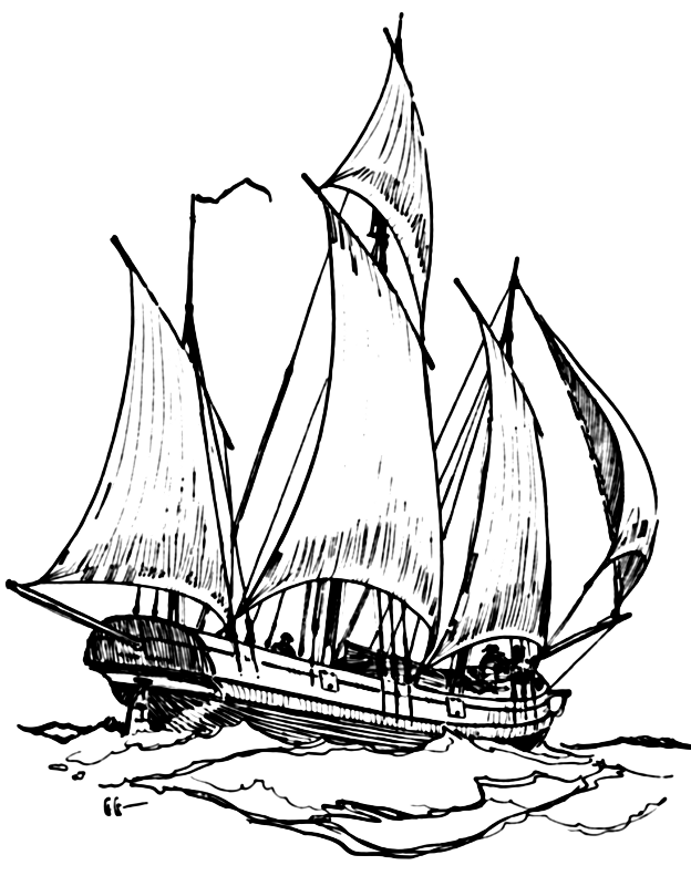 how to draw a clipper ship clipper ship drawing at paintingvalleycom explore draw how ship a clipper to