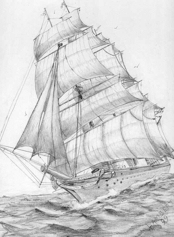 how to draw a clipper ship photo plan clipper schooner harvey 1848 baltimorejpg a clipper how ship draw to