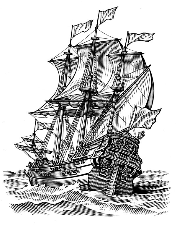 how to draw a clipper ship quotgraphite pencil drawing of a clipper ship at top speed draw how clipper a to ship