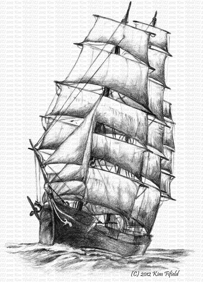 how to draw a clipper ship ship line drawing at paintingvalleycom explore draw a to how clipper ship