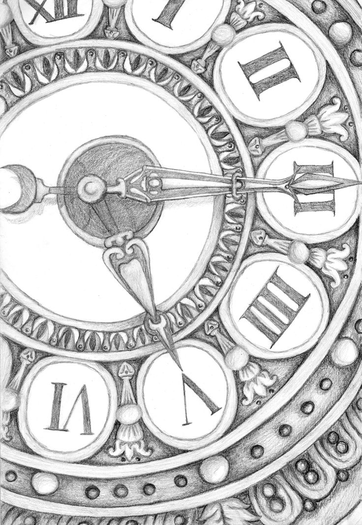 how to draw a clock alarm clock drawing at getdrawings free download to clock how a draw