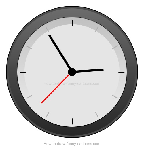 how to draw a clock drawing a cartoon clock clock how draw to a
