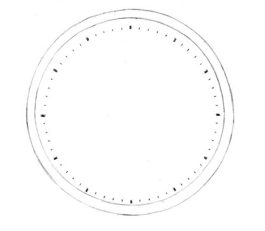 how to draw a clock how to draw a clock drawingforallnet a to how clock draw