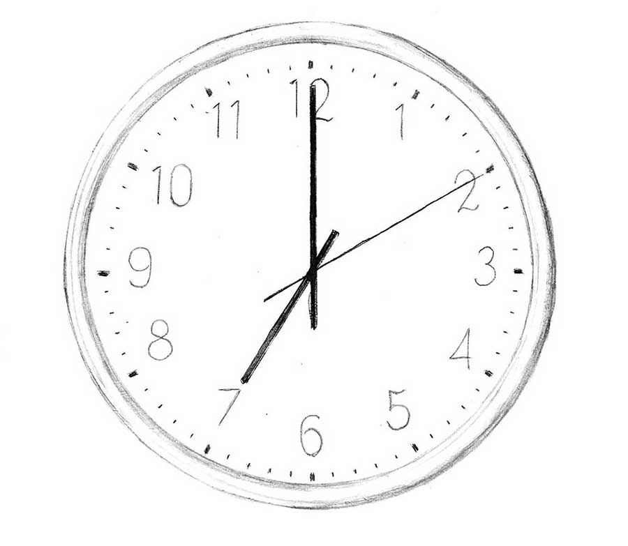 how to draw a clock how to draw a clock drawingforallnet to clock how a draw