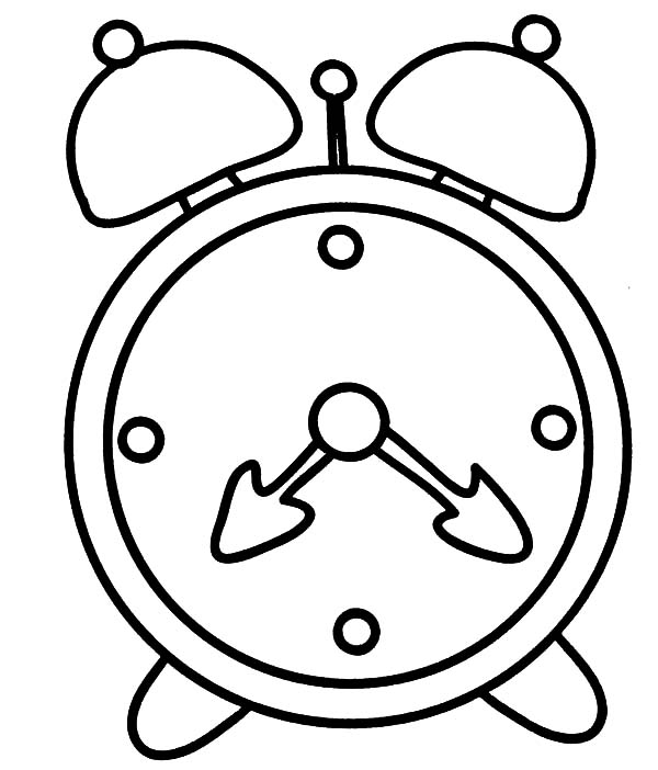 how to draw a clock learn how to draw an alarm clock everyday objects step to how clock draw a