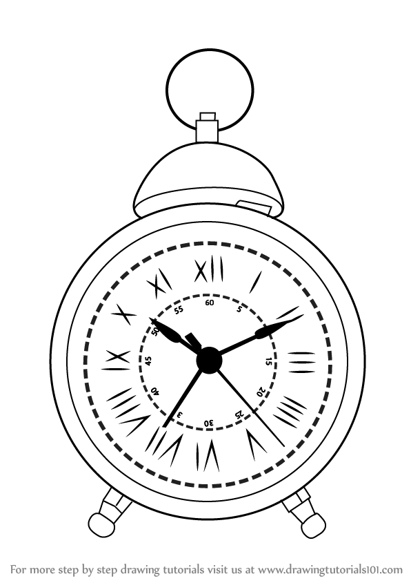 how to draw a clock time clock drawing at getdrawings free download a clock how to draw