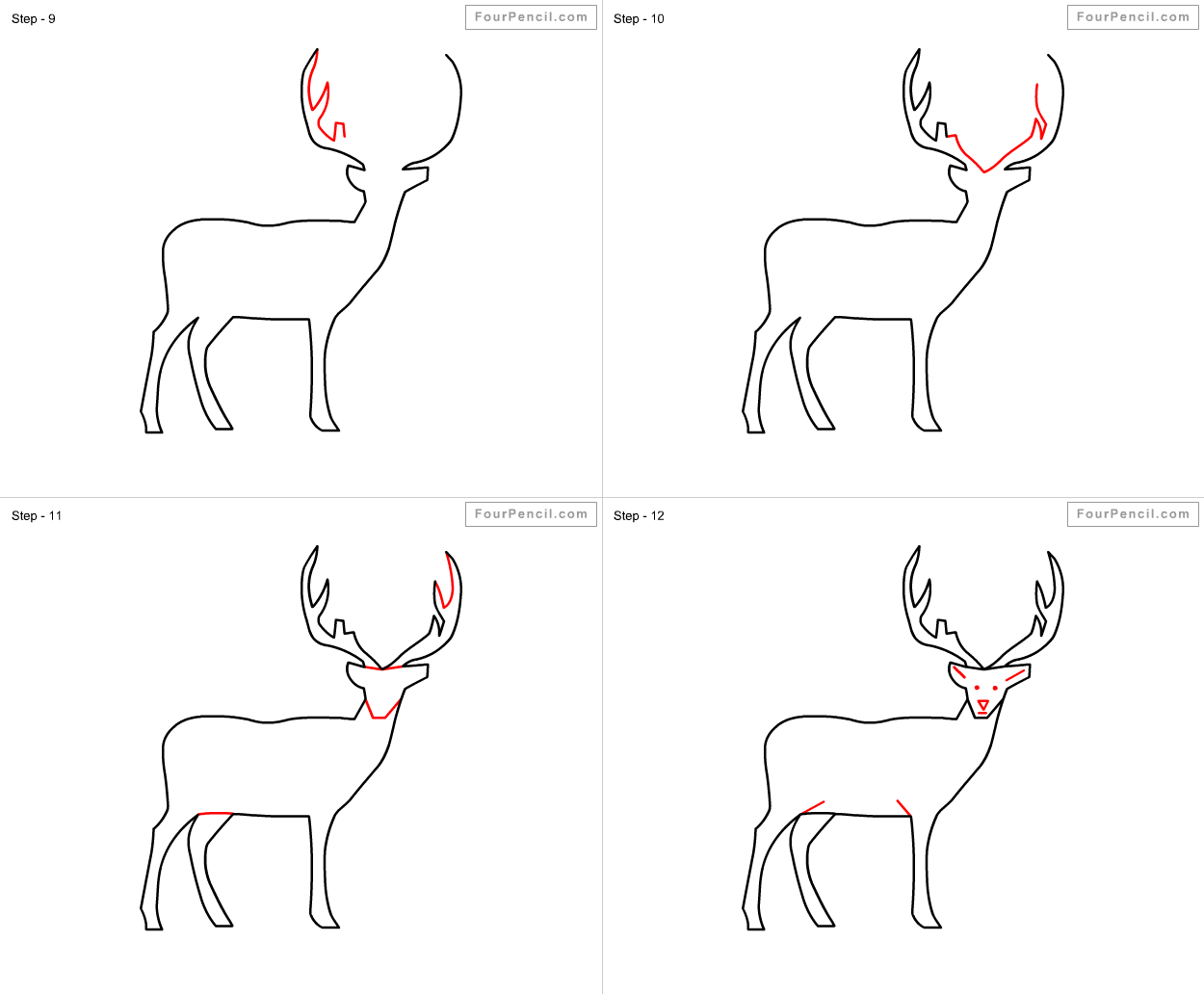 how to draw a deer martin wittig deer sketches finally new art right draw a deer to how
