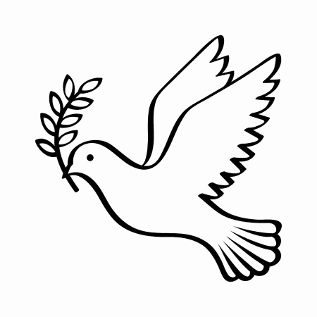 how to draw a dove easy simple dove drawing free download on clipartmag to dove draw how easy a