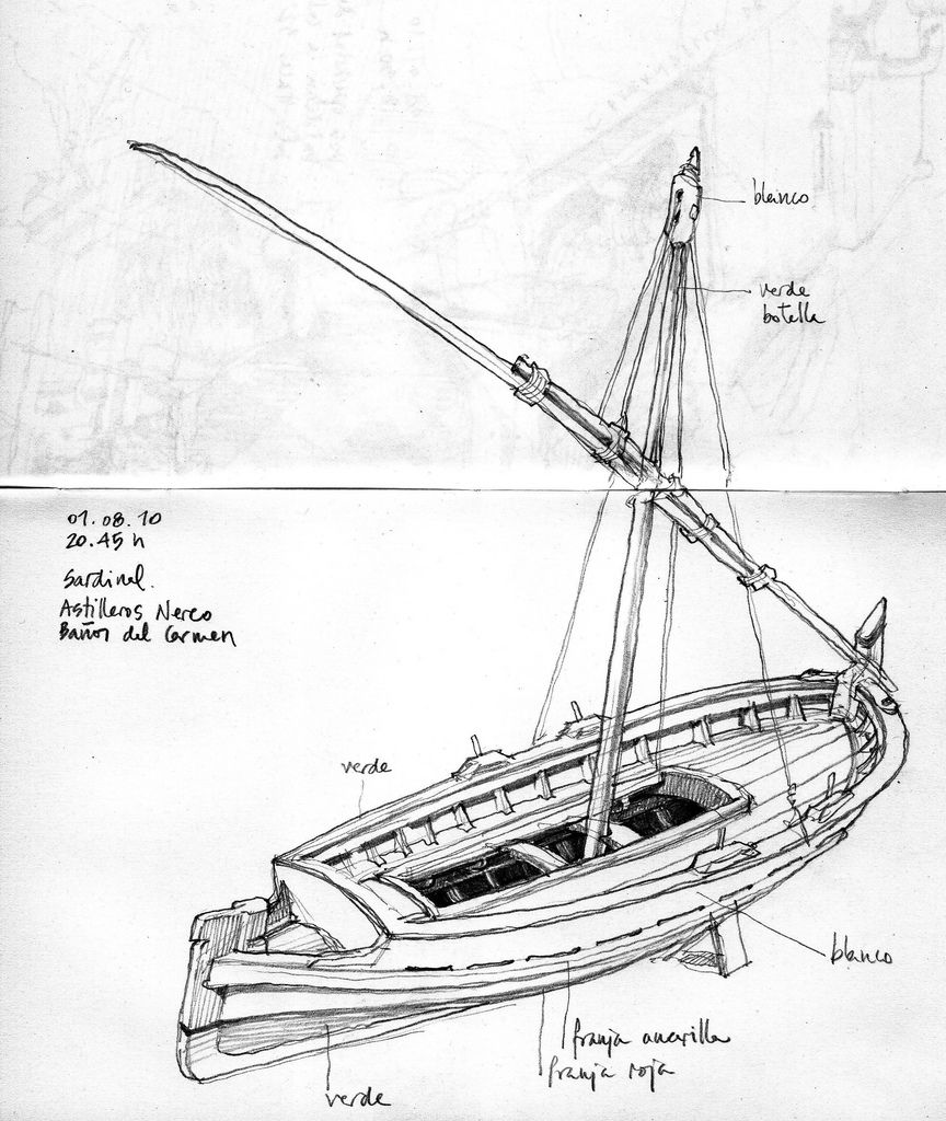 how to draw a fishing boat drawing fishing boat coloring pages kids play color how to draw fishing a boat