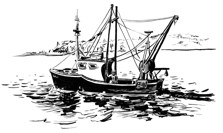 how to draw a fishing boat drawn yacht fishing boat fishing yacht line drawing hd how boat a fishing to draw
