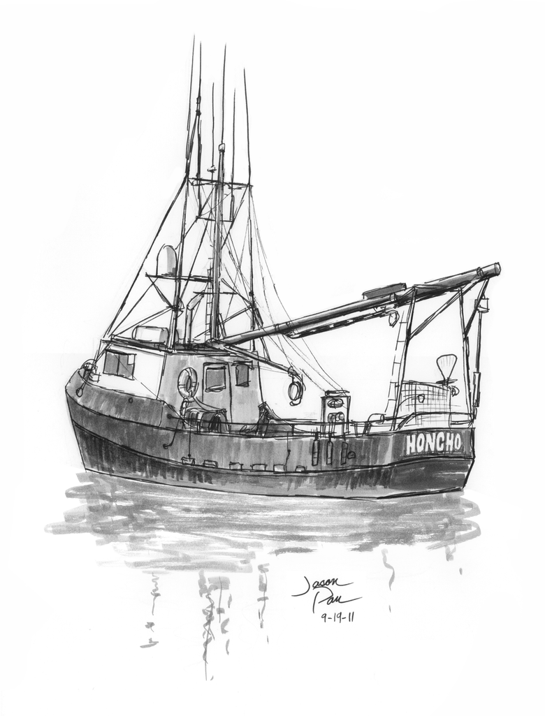 how to draw a fishing boat fishing boat line drawing at paintingvalleycom explore how boat draw a to fishing