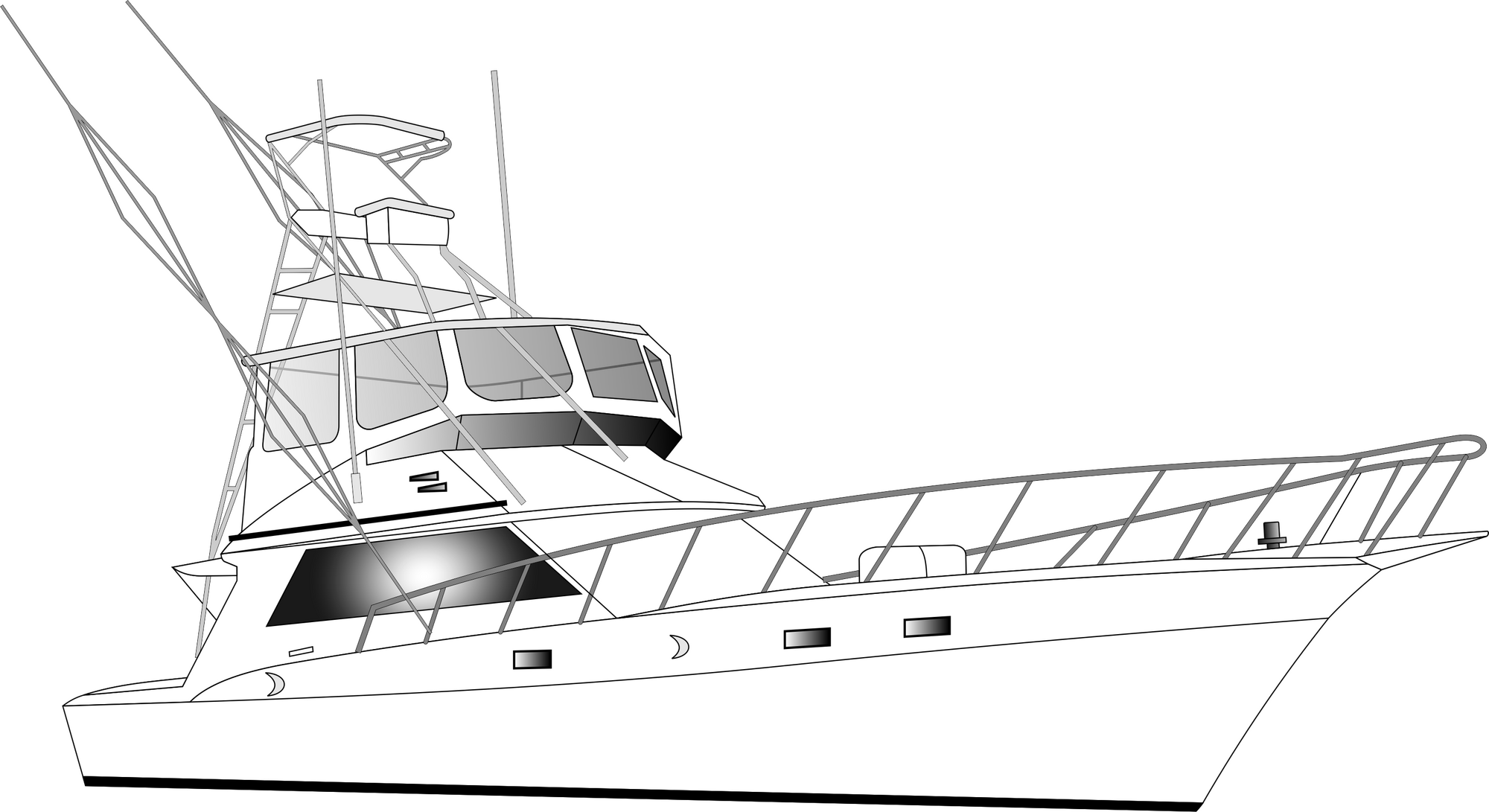 how to draw a fishing boat fishing share how to draw a sailboat on water draw fishing how boat to a