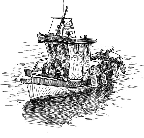 how to draw a fishing boat how to draw a fishing boat draw how to boat fishing a
