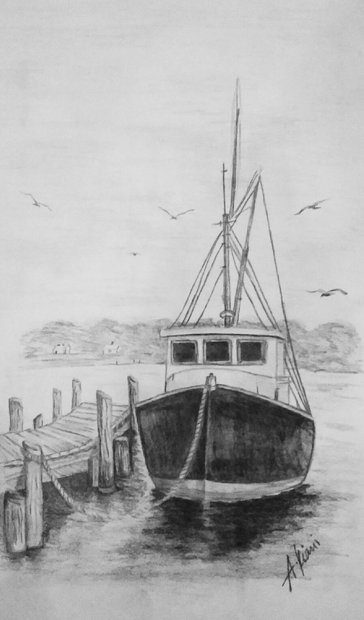 how to draw a fishing boat realistic fishing boat drawing draw to boat a how fishing