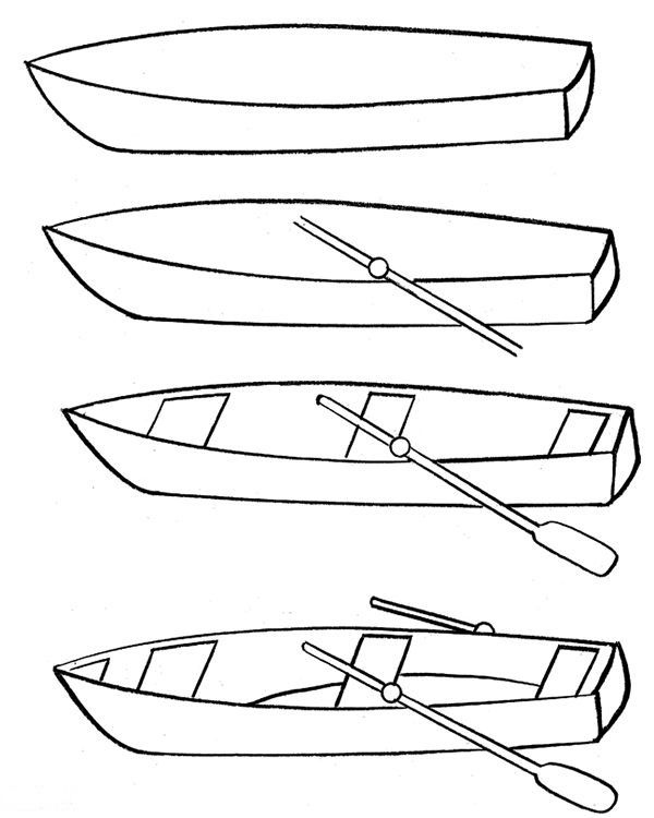 how to draw a fishing boat step by step how to draw a boat in water stuff i love for the kids draw step a step fishing boat how to by