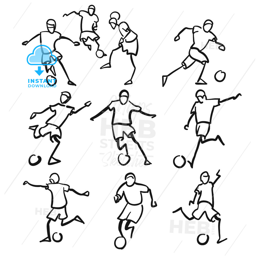 how to draw a football player easy football drawing free download on clipartmag easy how player draw a football to