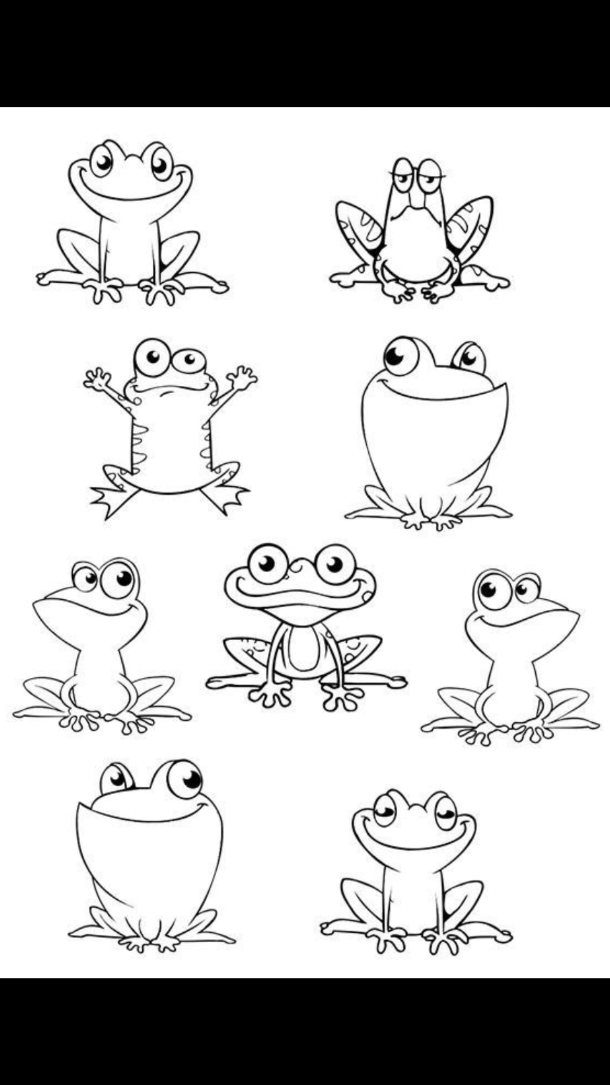 how to draw a frog face amphibians drawing free download on clipartmag how a face frog to draw