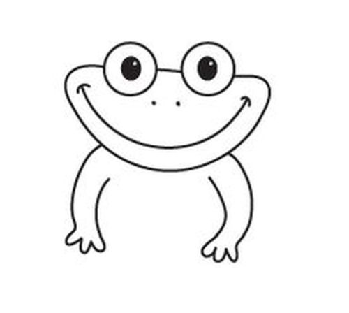 how to draw a frog face draw a deciduous forest frog draw face to how a