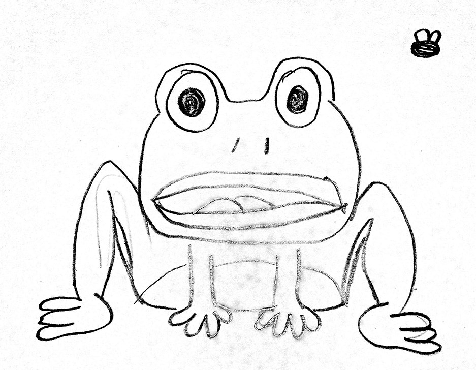 how to draw a frog face frog face drawing at getdrawings free download to a face frog how draw