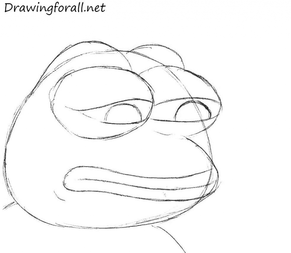 how to draw a frog face frog warrior tubing to how frog a face draw