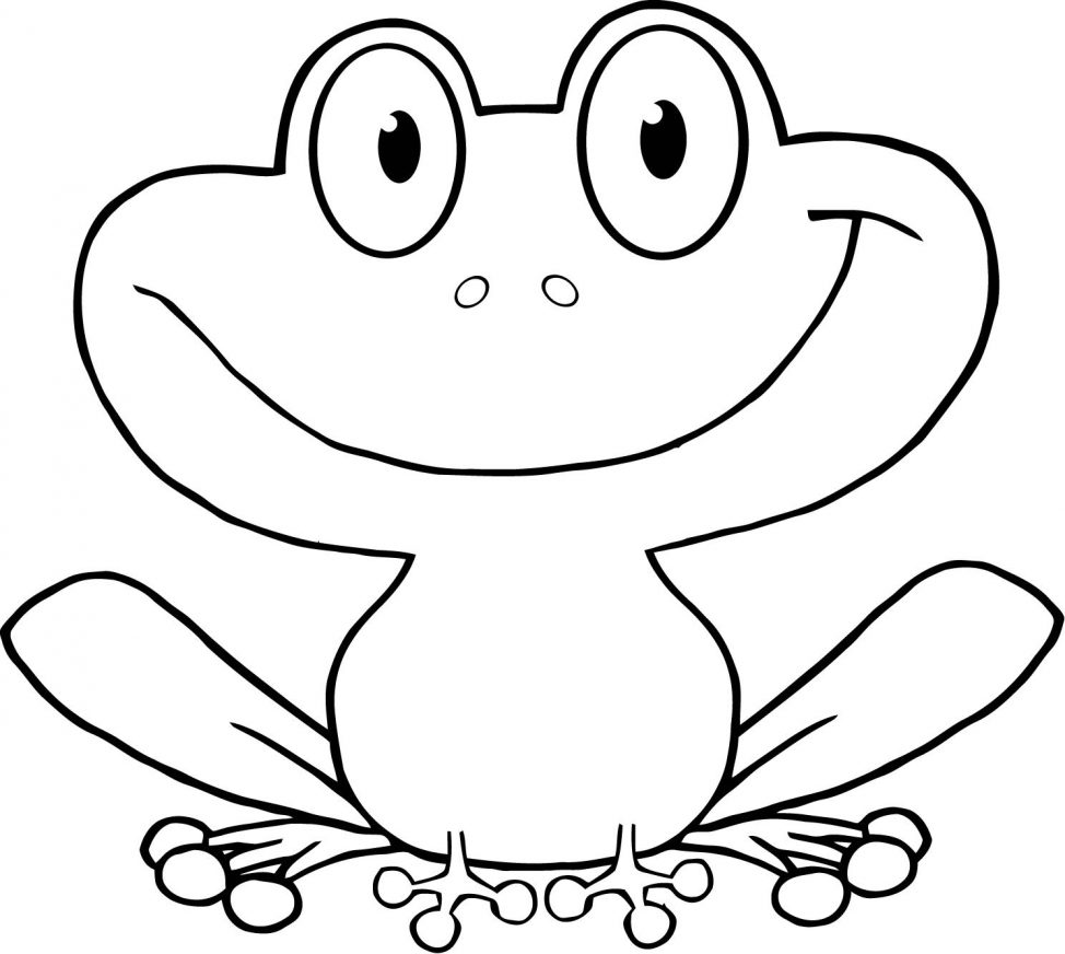how to draw a frog face simple frog drawing free download on clipartmag draw frog how to a face