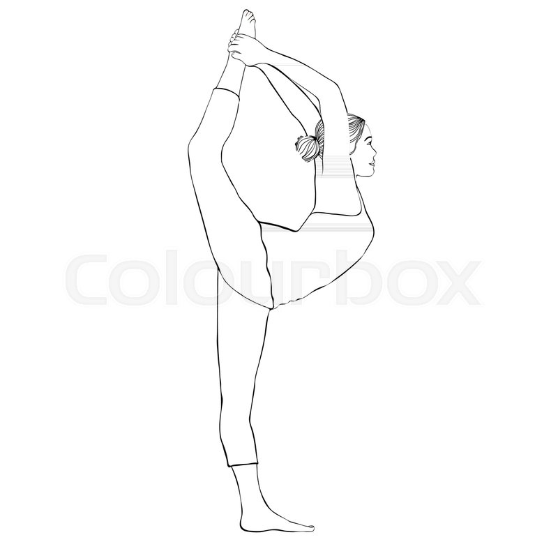 how to draw a girl doing the splits cartoon woman drawing at getdrawings free download a draw the splits to doing girl how