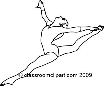 how to draw a girl doing the splits gymnast drawing at getdrawings free download girl how doing to the a draw splits
