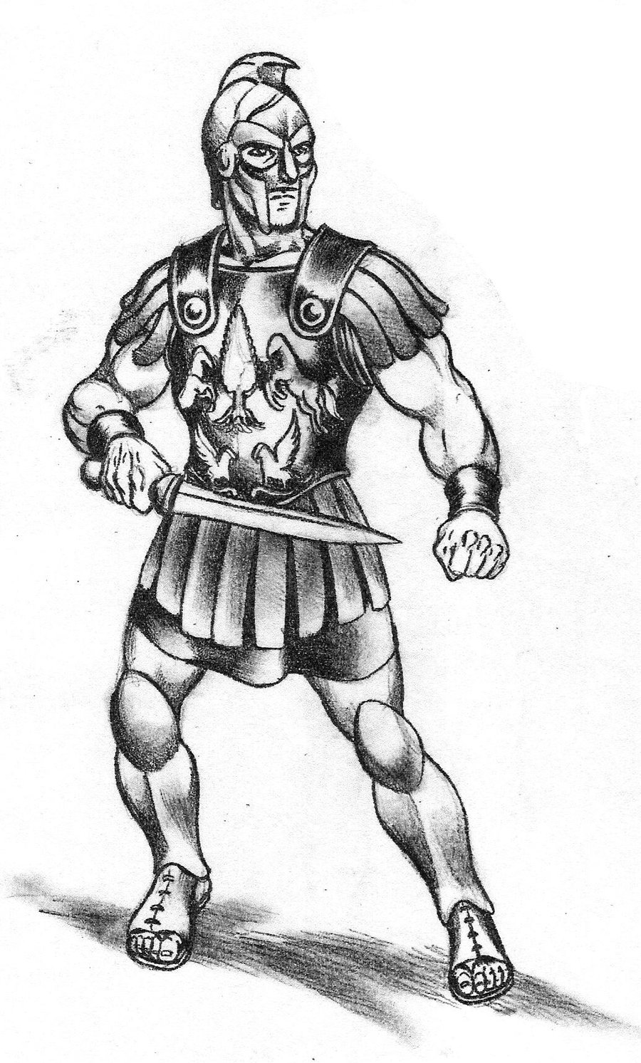 how to draw a gladiator commission drow gladiator by iara art on deviantart how draw gladiator a to