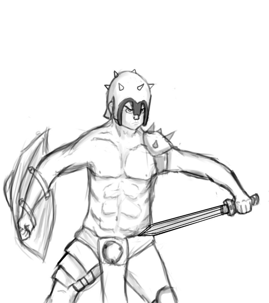 how to draw a gladiator gladiator drawing at getdrawings free download to gladiator draw how a