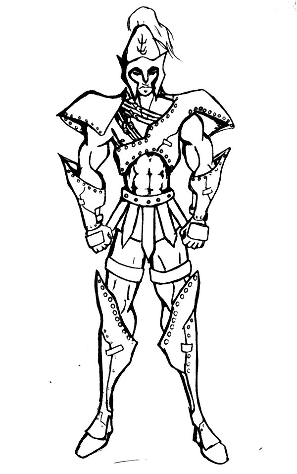 how to draw a gladiator gladiator drawing at getdrawings free download to how draw a gladiator