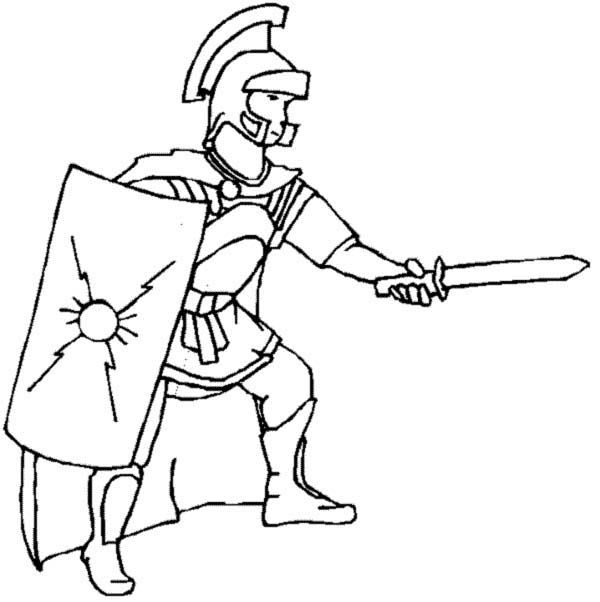 how to draw a gladiator roman gladiator coloring pages by joshua realistic how draw to gladiator a