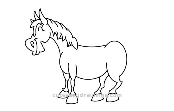 how to draw a horse standing up drawing horse standing on his hind stock illustration horse to a draw up how standing